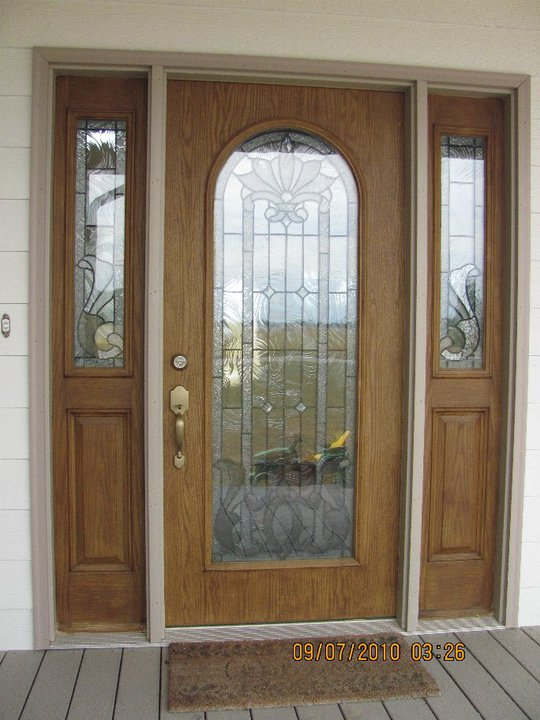 three panel front door handyman services indianapolis