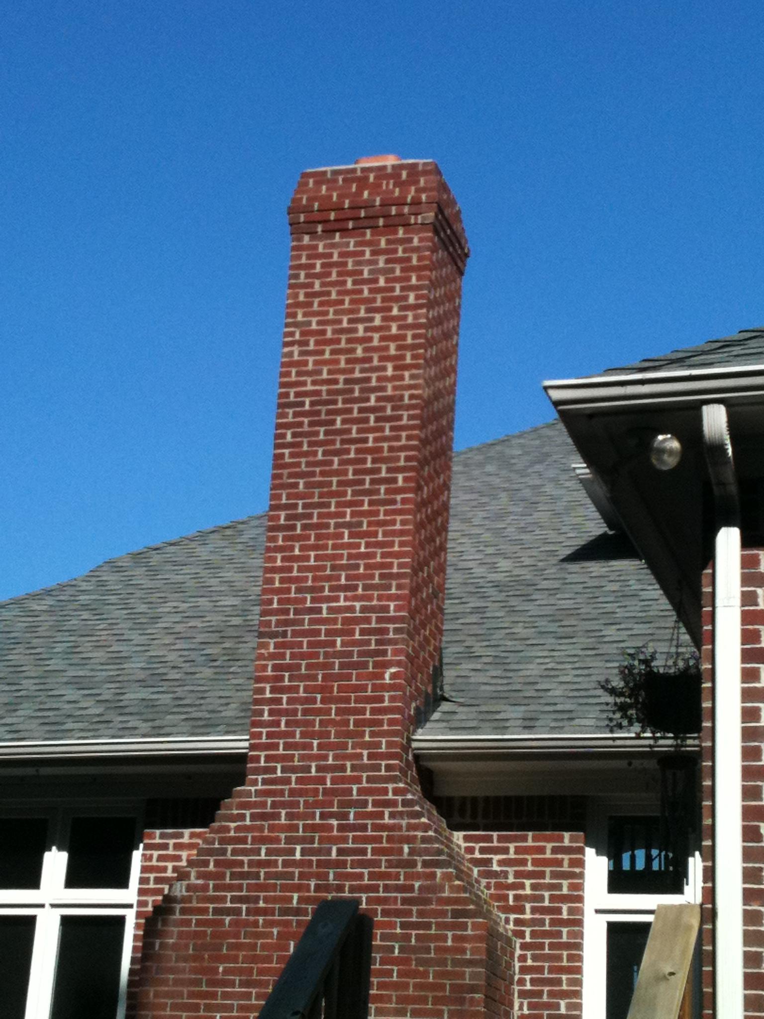 Image gallery masonry chimney for Stone chimneys