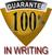 Guaranteed In Writing